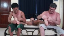 Asian Boy Coco Tickled Hard