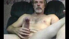Next Door Man Strokes Big Cock