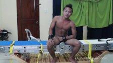Tickling Gay Asian Twink Niko