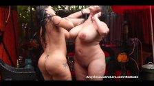 Angelina Castro & Miss Raquel