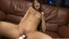 Reina Mizuki gets vibrator and syringe with