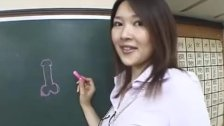 : Subtitles Akira Watase class blowjob lecture