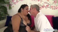 Fatty Latina Lorelai Givemore takes a fat dic