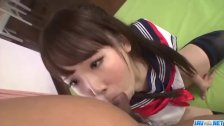 Ai Mizushima moans while getting nailed from