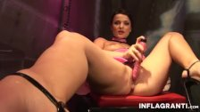 INFLAGRANTI German Dominatrix Masturbating