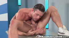 FalconStudios Ripped Hunks Plowing Balls Deep