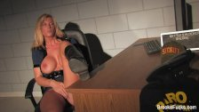 Double the trouble w/ blonde pornstar Brooke