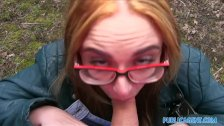 PublicAgent Sexy student fucking in bushes