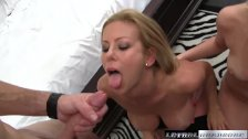Teen caught fucking BF by MILF Alexis Fawx
