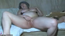 OldNanny Chubby Granny is very horny great th