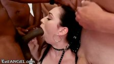 Face Full of Cum for a Blowbang Well Done
