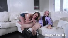 Teen Brooke Wylde Role Play with Older Guy