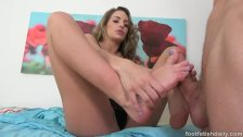 Kimmy Granger Wants Her Pretty Feet Fucked