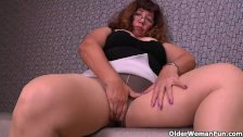 There is something about gran and her nylons