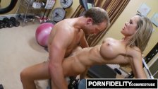 PORNFIDELITY - Brandi Love Seduces Young Stud