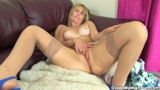 British milf Jane reveals hidden treasures