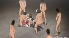 Teen Babe Gangbanged By Old Guys