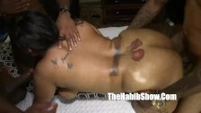 snicka too much bbc dick gangbanged by bbc gu