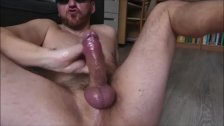 Daddy Jerking Big Cock