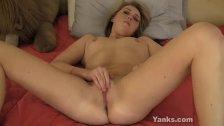 Small Breasted Melody Masturbating