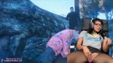 Playing GTA Online While Masturbation Hard