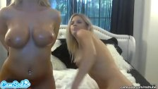 hottest blonde lesbians with big tits n oil