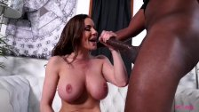 Bigtits MILF Kendra Lust gets huge black cock
