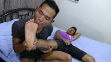 Asian Twink Foot Fetish Bareback Sex