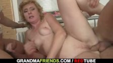 She enjoys fucking two cocks