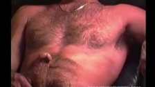 Handsome and Hairy Mature Man Jerks Off