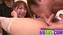 Harsh pleasures for Ayaka Fujikita in nasty