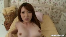 Asian floozy getting her bush stuffed with a huge one - duration 7:58