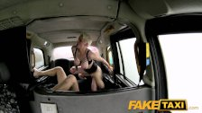 FakeTaxi - Hot Passionate Rough Backseat Sex