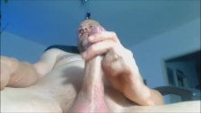 Daddy Wanking His Nice Cock And Cum
