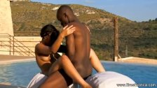 Ebony Partners Sex Outdoor