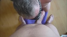Daddy Blowing Amazing Uncut Cock