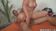 Mother in law seduced to sex