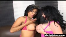 Gabby Quinteros Gets Pussy Pleased buy Sophie Dee