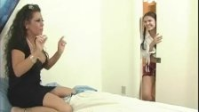 Ebony milf teaches teen to suck dick, portuguese girls nude pics