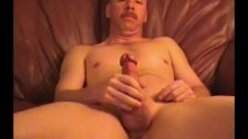 Mature Amateur Dave Beating Off
