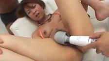 Ayumi Haruna gets cremed after a naughty