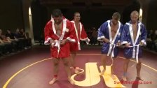 Four Wrestlers