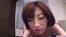 Kanon Hanai feels large penis smacking her