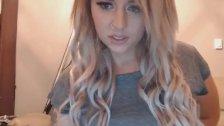 Very Hot Blonde Loves Masturbating on Cam
