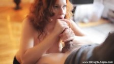 Sexy Redhead BJ Experience