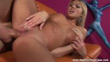 Blonde MILF Babe Enjoys Deep Anal