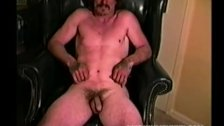 Homemade Video of Mature Amateur Larry Jacking Off