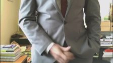 Jerking With Suit