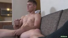 Active Duty New Recruit Dante Jerks Big Cock