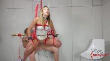 Teen Ass Slave Sophia Grace Bounces On Cock